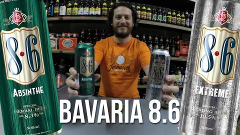 Degustação Cervejas Bavaria 8.6 Extreme e Absinthe