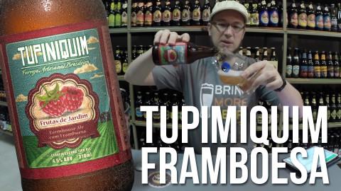Degustação Cerveja Tupiniquim Framboesa