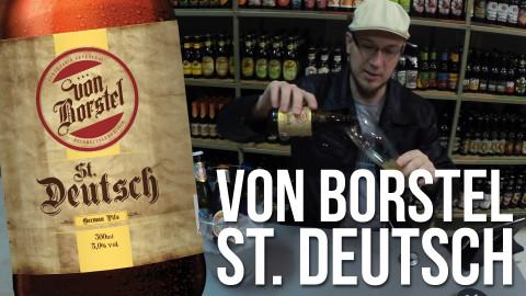 Degustação Cerveja Von Borstel St. Deutsch