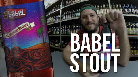 Degustação Cerveja Babel Summer Stout