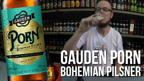 Degustação Cerveja GaudenPorn Bohemian Pilsner