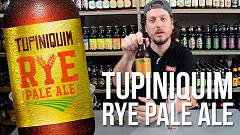 Degustação Cerveja Tupiniquim Rye Pale Ale
