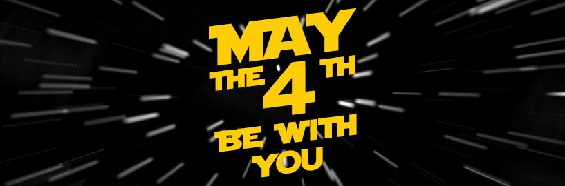 Pronto! Você já está concorrendo a promoção May the Fourth