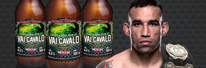 Vai Cavalo: conheça a cerveja do campeão do UFC Fabricio Werdum