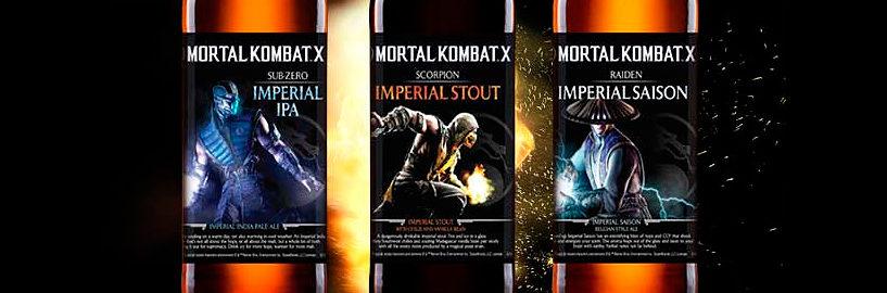 Sound Brewery lança cervejas inspiradas em Mortal Kombat