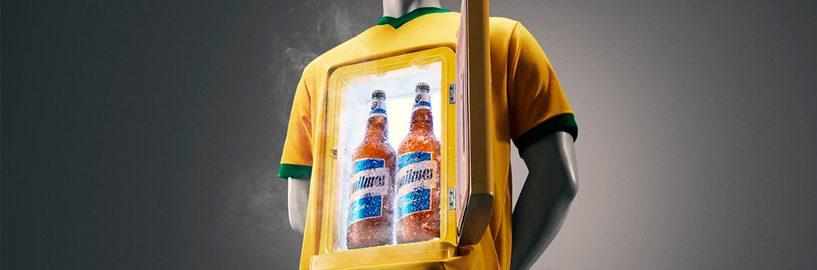 Quilmes faz piada com seleção brasileira após eliminação da Copa América