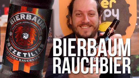 Degustação cerveja Bierbaum Weizen Rauchbier