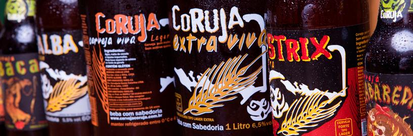 Cerveja artesanal Coruja: para quem tem hábitos noturnos e visão privilegiada