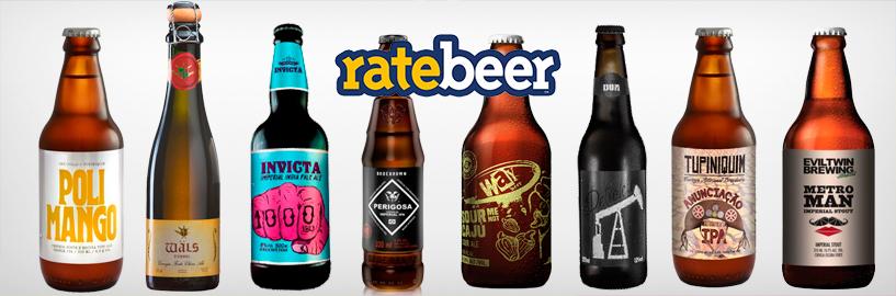 As 10 cervejas brasileiras mais bem avaliadas no Ratebeer
