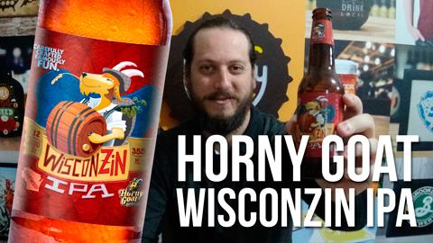 Degustação Horny Goat Wiscozin IPA