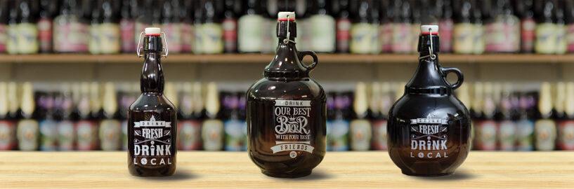 Growlers: como surgiram e como foram parar dendro da casa dos cervejeiros?