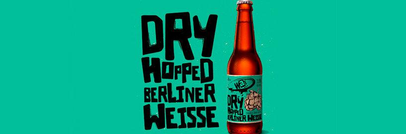 Dry Hopped Berliner Weisse agora em garrafa