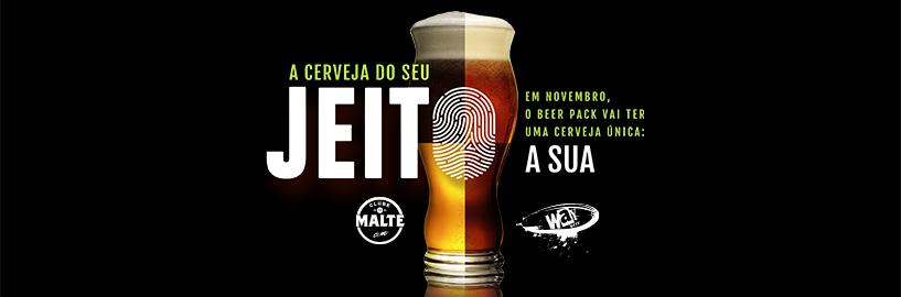 Essa é a sua chance de criar uma cerveja para o Beer Pack de novembro!