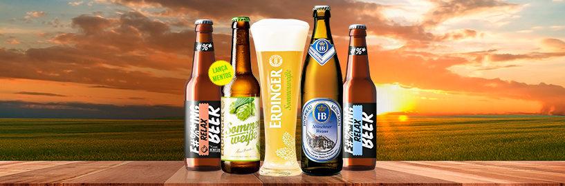 Beer Pack de Junho – Das tradicionais as mais inovadoras cervejas de trigo