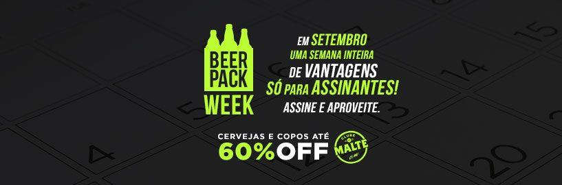 Vem aí a Beer Pack Week – Uma semana inteira de ofertas arrasadoras para assinantes!