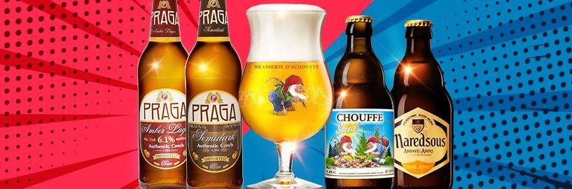 Importações exclusivas chegam para o Beer Pack do Clube do Malte