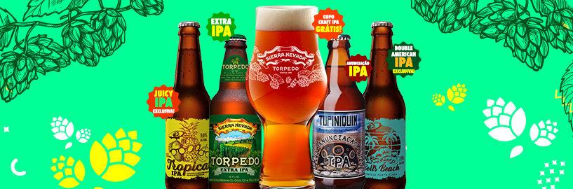 Beer Pack de Janeiro – O mês das IPAs