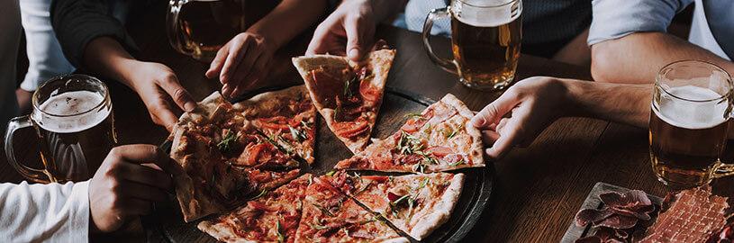 4 Harmonizações de cerveja com pizza