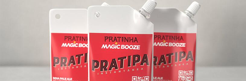 Você já conhece a cerveja instantânea da Pratinha?