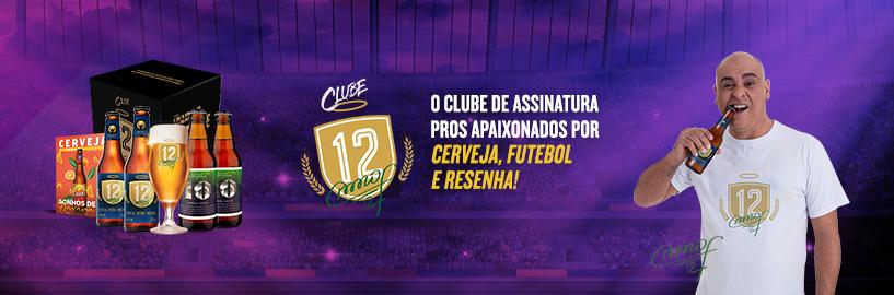 Clube 12: o clube de assinatura pros apaixonados por cerveja e futebol