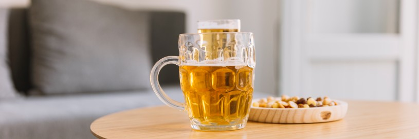 Você tem o hábito de beber em casa?