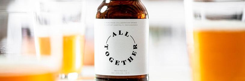 All Together – a cerveja criada para ajudar pessoas na pandemia