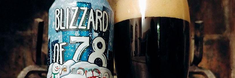 Nevasca de 1978 e a cerveja Blizzard of 78