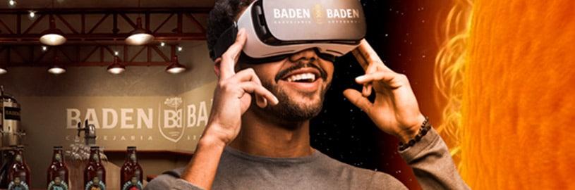 Cerveja Baden Baden cria degustação guiada em realidade virtual